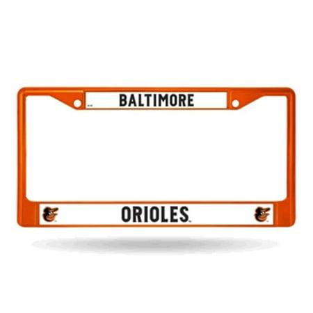 Baltimore Orioles Metal License Plate Frame - Orange](Plates Baltimore)