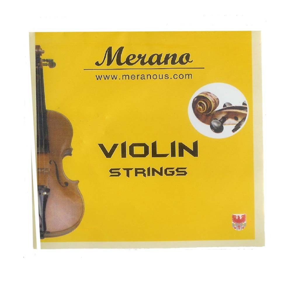 Merano Basic Violin Strings Set 4 4-3 4 by Supplier Generic