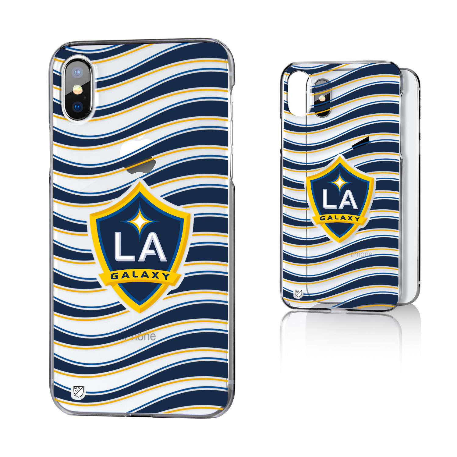 Los Angeles Galaxy GALAXY Wave Clear Case for iPhone X