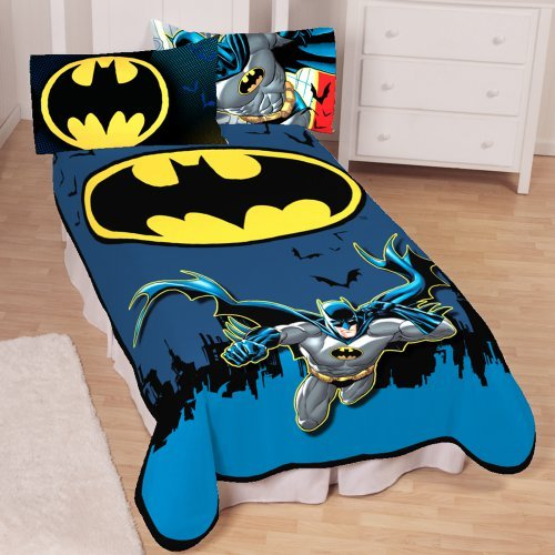 Batman Night Time Flyer Blanket
