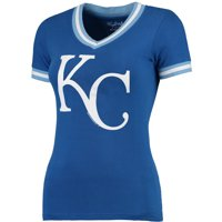 Kansas City Royals Wright & Ditson Women's Eephus Baseball T-Shirt - Royal