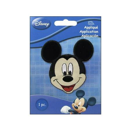 - Simplicity Applique Disney Iron On Sm Mickey Mouse