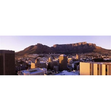 South Africa  Cape Town and Table Mountain Poster Print by  - 36 x 12 - image 1 de 1