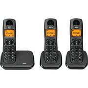Phone Handset Cordless, Rca 2161-3bkga Home Landline Phone Cordless Handset,  3pc
