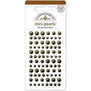 Doodlebug Mini Adhesive Pearls, 84pk