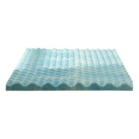 Sleep Innovations 2 5 Inch Gel Memory Foam Mattress Topper