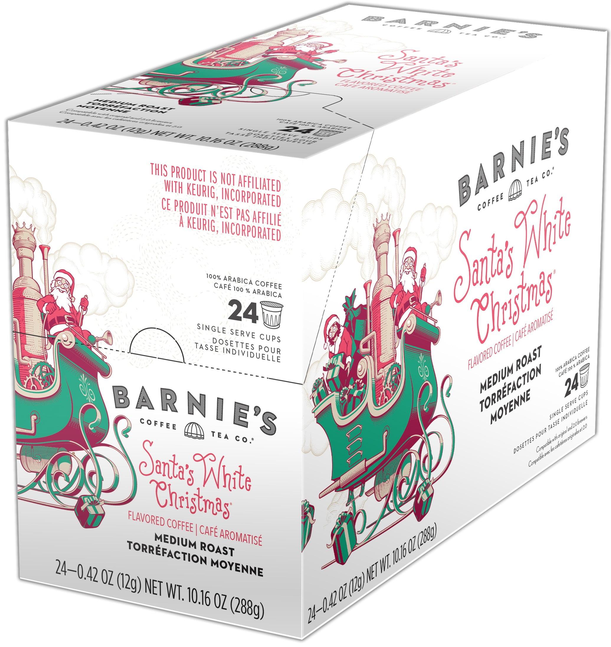 Barnie\'s Coffee Kitchen Santa\'s White Christmas, Single Serve Cup ...