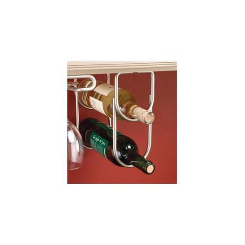 Rev-A-Shelf RS3250SN Double Wine Bottle Rack with Satin Nickel