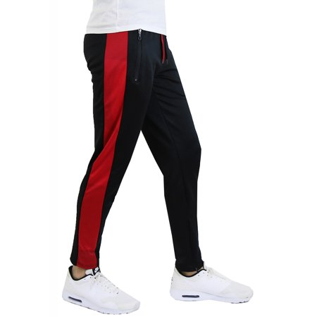 Men's Moisture Wicking Active Stripe Track