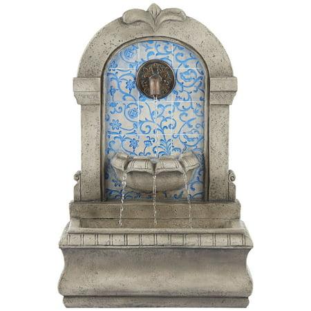 John Timberland Outdoor Wall Water Fountain 30 1/4