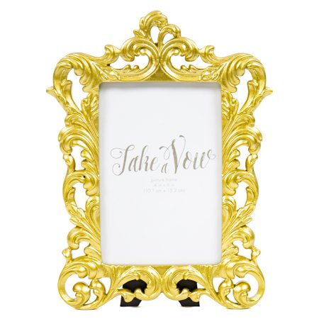 Take A Vow Gold Baroque Picture Frame