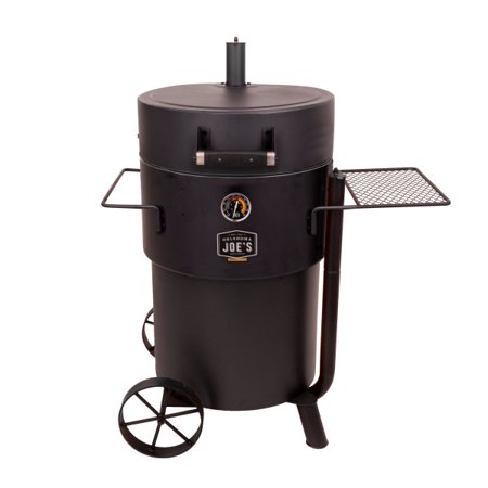 Oklahoma Joes Bronco Pro Drum Smoker - Black