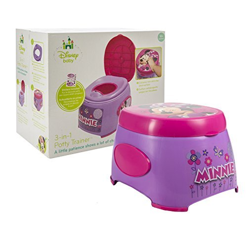 Disney Minnie Mouse 3 In 1 Potty Trainer Functions As