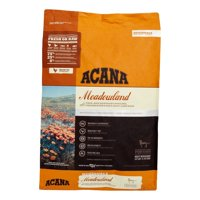 Acana Meadowland Grain-Free Free-Run Poultry & Freshwater Fish All Breed Dry Cat Food, 12 lb