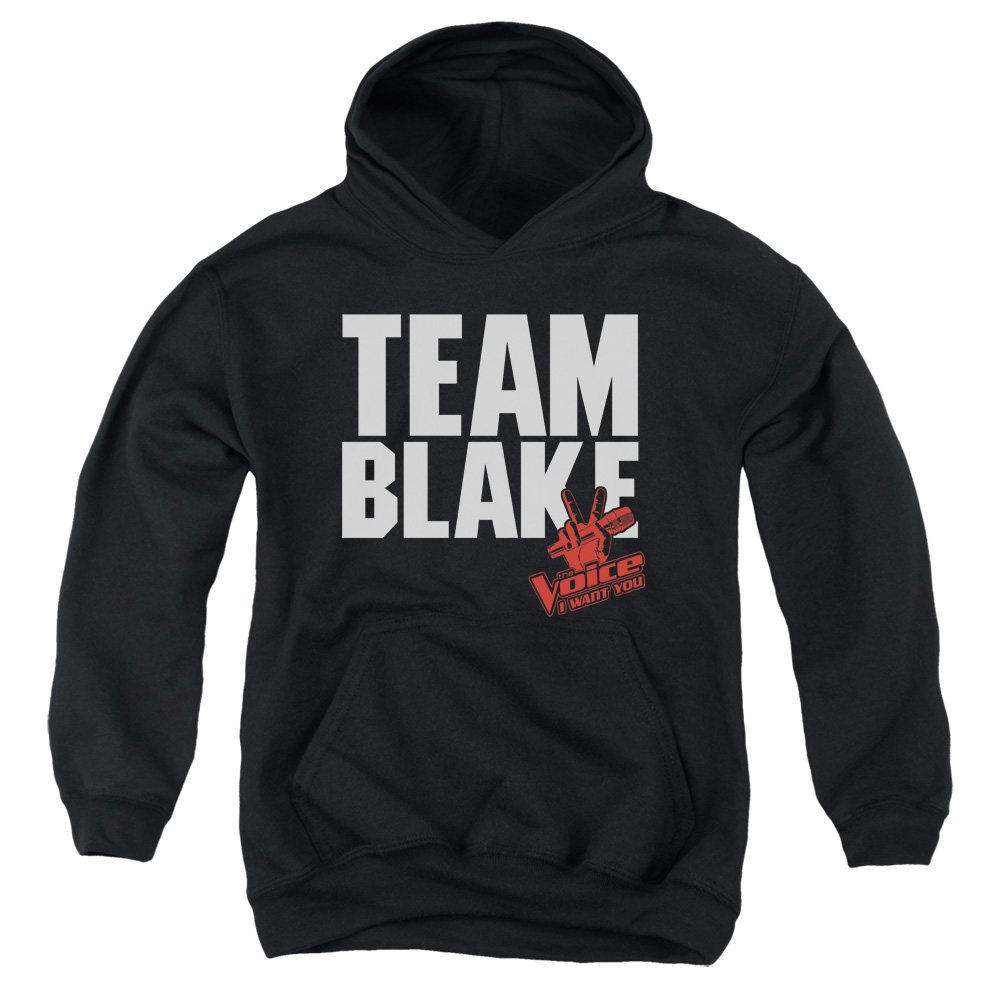The Voice Blake Team Big Boys Pullover Hoodie