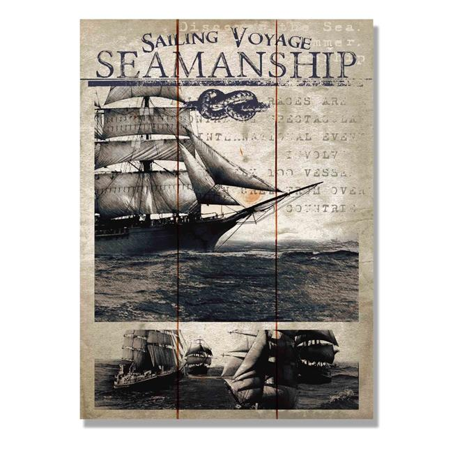 Day Dream HQ WSVS1115 11 x 15 in. Sailing Voyage Seamanship Wall Art - image 1 of 1