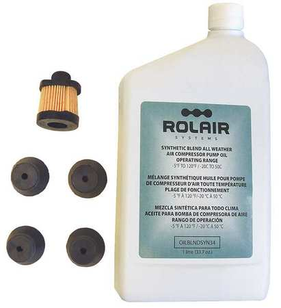 ROLAIR FC1500HBP2KIT Replacement Parts Kit, For 26JY33
