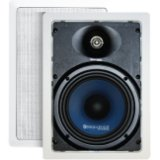 Sequence Premier 120 W RMS Speaker - 2-way - 50 Hz to 22 kHz - 8 Ohm - 90 dB Sensitivity - In-wall