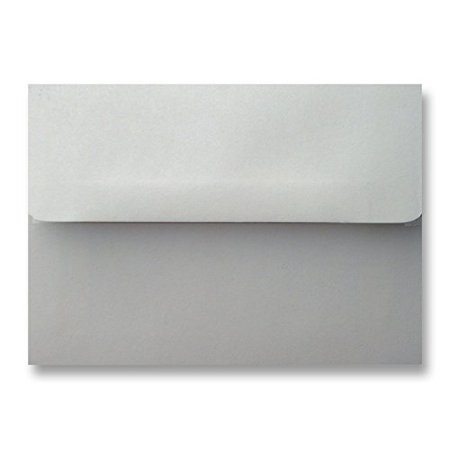 Free Shipping 300 Pastel Gray A2 Square Flap (4-3/8 X 5-3/4) Envelopes for 4-1/8 X 5-1/2 Response Enclosure Invitation Announcement Wedding Shower Thank You Christening Mini Cards By Envelope Gallery