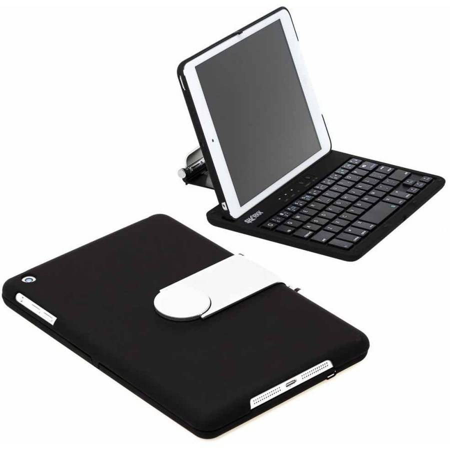 SHARKK Apple iPad mini Bluetooth Keyboard Clamshell Case with 60-Hour Battery