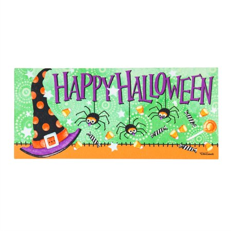 Witchy Halloween Sassafras Switch Mat - Mats Zuccarello Halloween