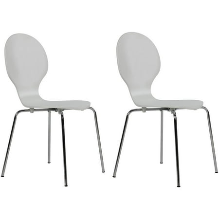 - Shell Bentwood Dining Chairs Multiple Colors- Set of 2