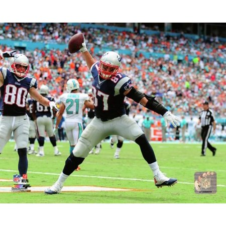 Rob Gronkowski 2014 Action Photo Print