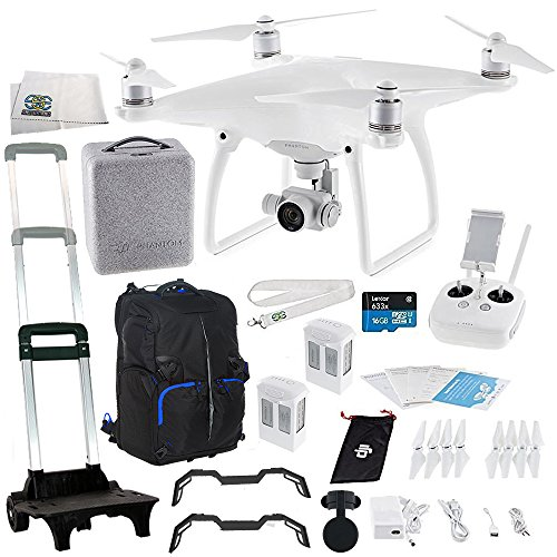 DJI Phantom 4 Quadcopter Essentials Travel Backpack Bundle