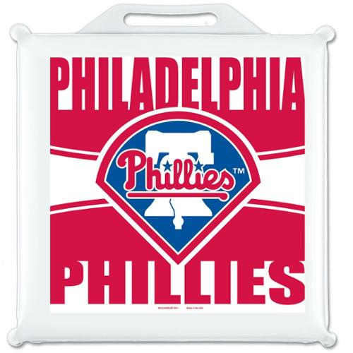 Philadelphia Phillies Official MLB 14 inch x 14 inch  Stadium Seat Cushion by Wincraft