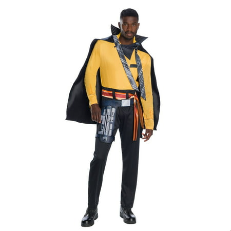 Solo: A Star Wars Story-Lando Deluxe Mens Halloween Costume (Famous Rock Star Halloween Costumes)