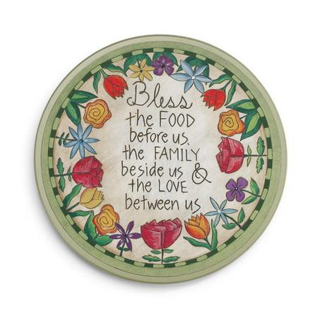 DEMDACO Table Prayer Lazy Susan ()