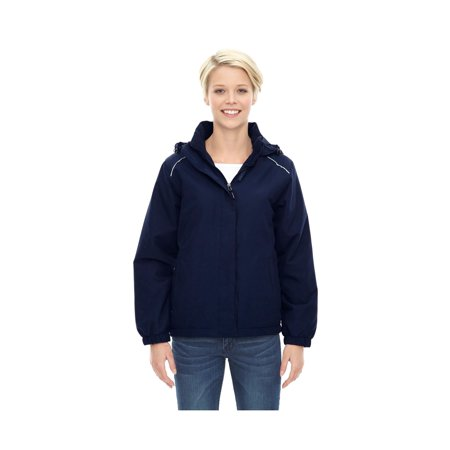 Core 365 Brisk Women's Roll Away Hood Insulated Jacket, Style 78189