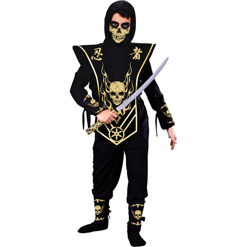 Skull Lord Ninja Child Halloween Costume