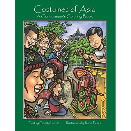 Costumes of Asia : A Connoisseur's Coloring - Aslan Costume