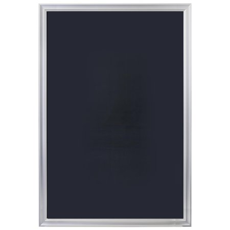 27 x 40 poster frame for wall movie graphics or signs non glare lens silver aluminum. Black Bedroom Furniture Sets. Home Design Ideas