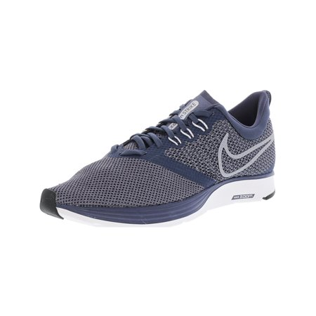 0d1009ec94fa Nike Men s Zoom Strike Black   Ankle-High Mesh Running Shoe - 10.5M ...