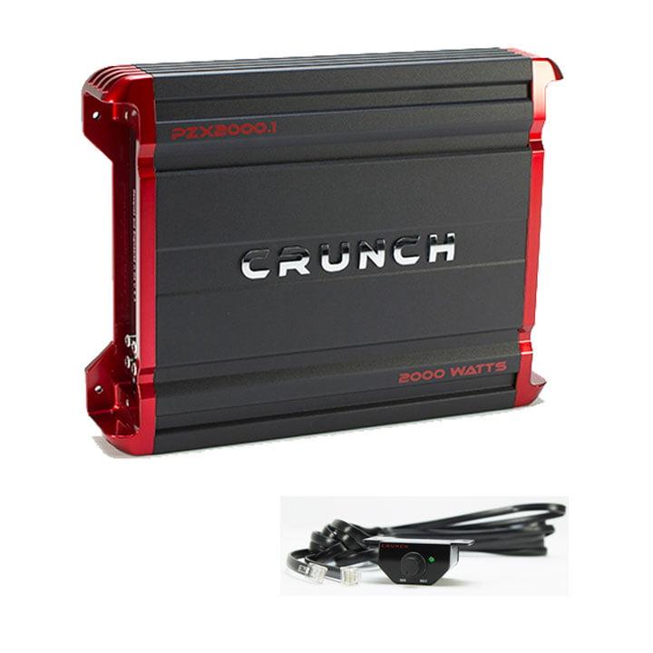 Crunch Monoblock Amplifier 2000W