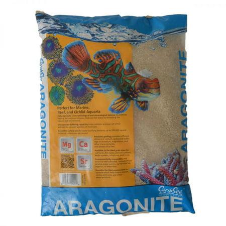 CaribSea Dry Aragonite Seafloor Special Grade Reef Sand 15 lbs - Pack of 2