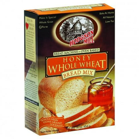 Hodgson Mill For A Bread Machine Or Oven Bake Honey Whole Wheat Bread Mix, 16 oz