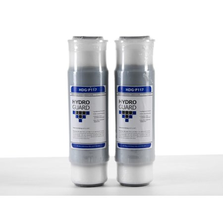 Gac Filter Cartridge ((2 Pack) Cuno Aqua-Pure AP117 Replacement Compatible HDG-P117 Universal GAC Water Filter)
