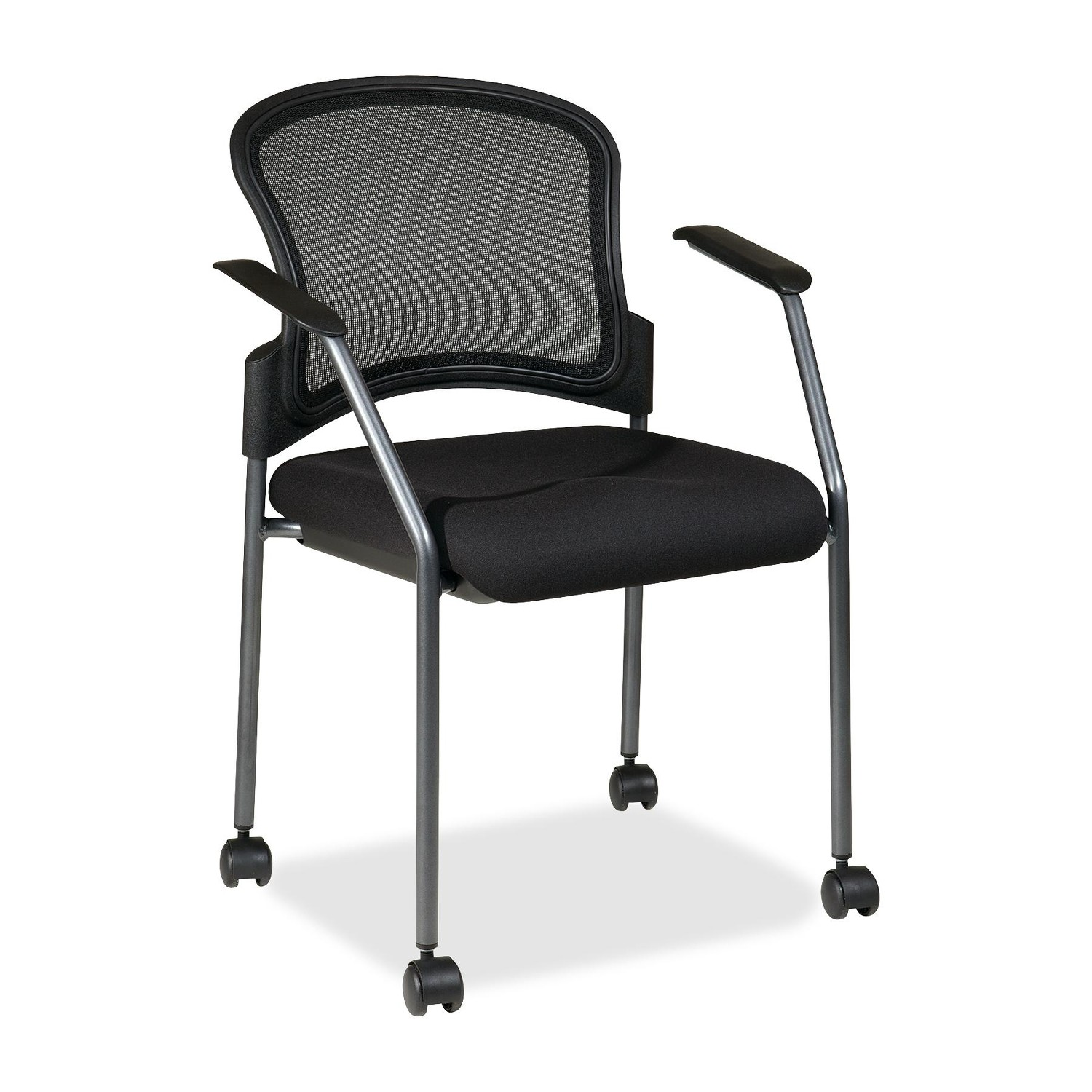 Guest Chair with Arms & Matrix Back