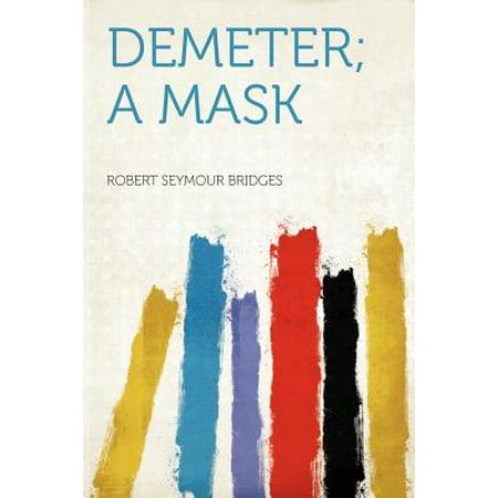 Demeter; A Mask (Dementor Mask)