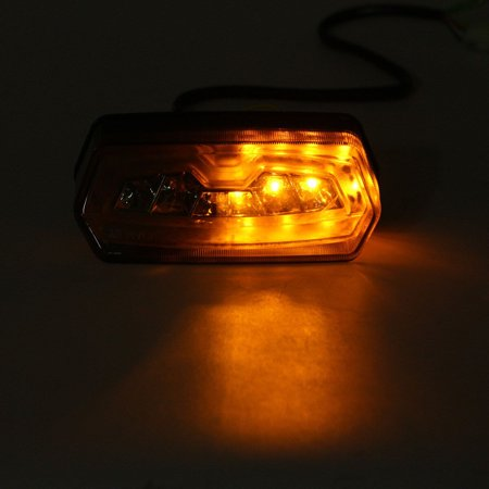 Motorcycle turnsignal LED Brake Tail Light Integrated Turn Signals For Honda MSX 125 Grom - image 9 of 10