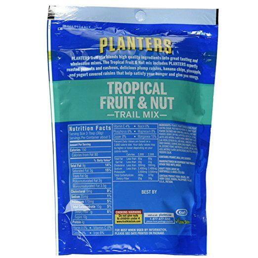 Planters Trail Mix Fruit & Nut, 6 Oz - Walmart.com on
