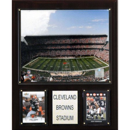 - C&I Collectables NFL 12x15 Cleveland Browns Stadium Plaque