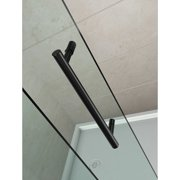 Aston Avalux GS 38'' x 72'' Hinged Semi-Frameless Shower Door