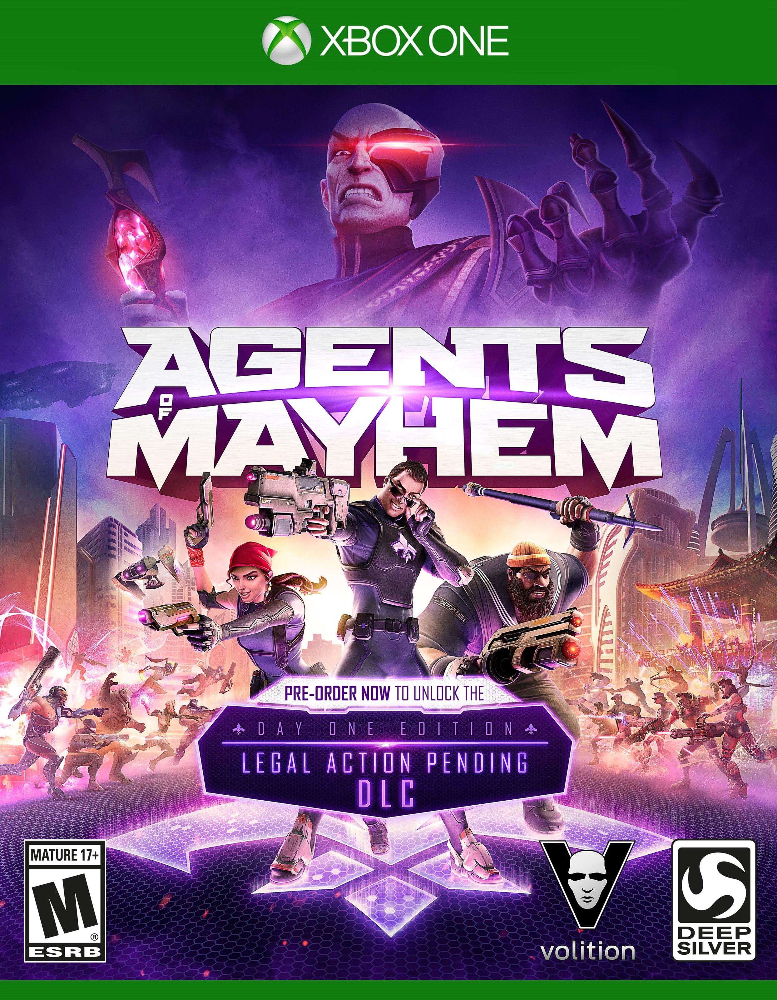 Agents Of Mayhem Launch Edition (Xbox One) Deep Silver
