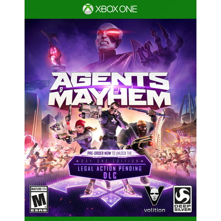 Agents Of Mayhem Launch Edition (Xbox One) Deep Silver