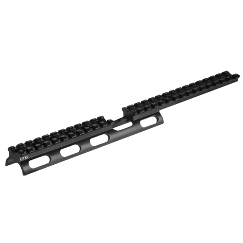 Leapers, Inc. UTG Tactical Scout Slim Mount System, for Rug 10/22, Free Float, Black