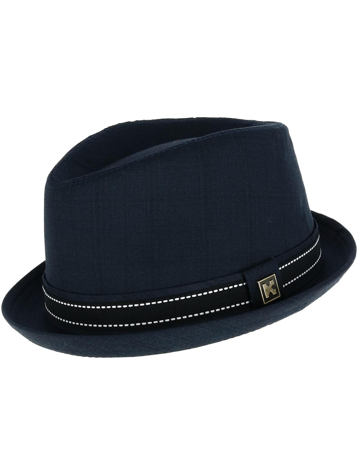 "Broner Wool Felt Porkpie Hat 1 3//4/"" Turned Up Brim"